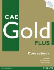 CAE Gold Plus Coursebook with Access Code, CD-ROM and Audio CD P