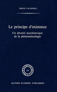 Le principe d'existence