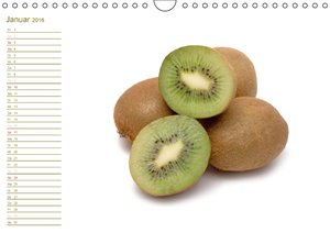 Leckere Früchte / Geburtstagskalender (Wandkalender 2016 DIN A4