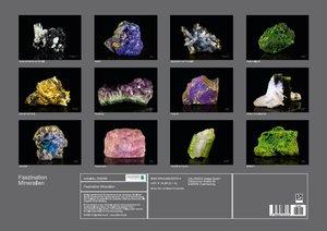 Faszination Mineralien (Posterbuch DIN A2 quer)
