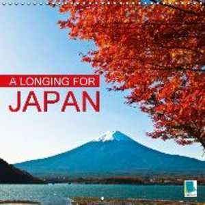 A longing for Japan (Wall Calendar 2015 300 × 300 mm Square)