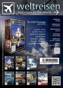 Weltreisen 7er-DVD-Package