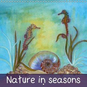 Nature in seasons (Wall Calendar 2015 300 × 300 mm Square)