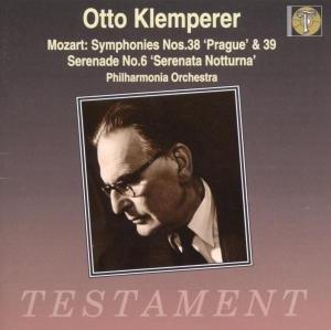 Sinfonien 38 & 39/Serenade 6
