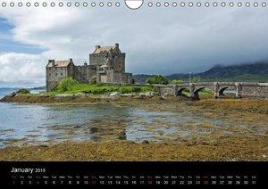 Historic Scotland (Wall Calendar 2015 DIN A4 Landscape)