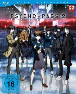 Psycho Pass - 2. Staffel - Box 1 (Blu-ray) + Sammelschuber (Limi