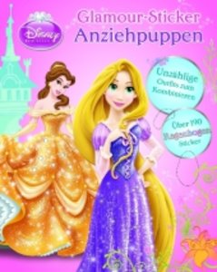 Glitzer-Anziehpuppen 1