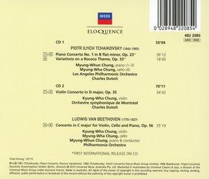 Konzerte von Tschaikowsky und Beethoven