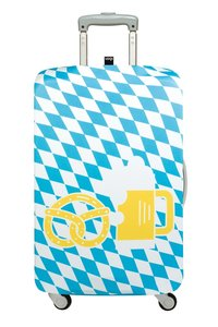 LOQI Luggage Cover TRAVEL Pretzel