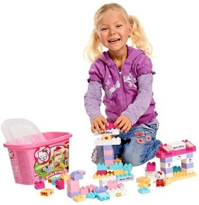 BIG 800057022 - PlayBIG BLOXX HELLO KITTY SPIELBOX