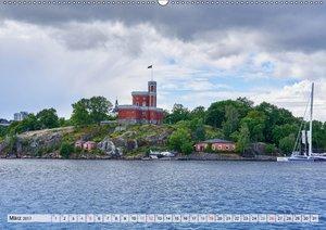 Stockholm an Mittsommer
