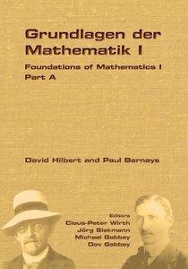 Foundations of Mathematics I