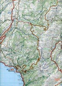 KuF Schweiz Radkarte 15 Greyerzerland - Montreux - Gstaad 1 : 60