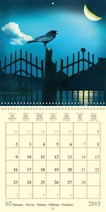 Fantasy World Mausopardia (Wall Calendar 2015 300 × 300 mm Squar
