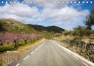 Landstraßen Europas - Abgefahren (Tischkalender 2016 DIN A5 quer