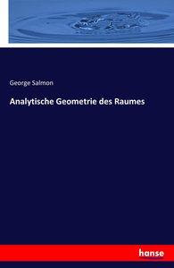 Analytische Geometrie des Raumes