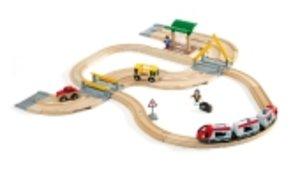 Brio 33209 - Straßen und Schienen: Reisezug Set