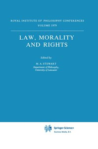 Law, Morality and Rights
