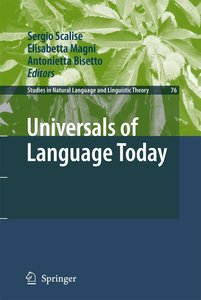 Universals of Language Today