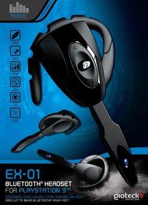 EX-01 Bluetooth Headset für PlayStation 3