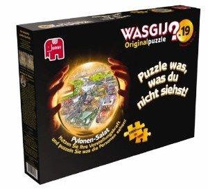 Jumbo Spiele 17239 - Wasgij 19: Pylonen-Salat, 1000 Teile Puzzle