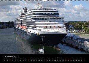 Kreuzfahrtschiffe Rostock (Wandkalender 2017 DIN A2 quer)
