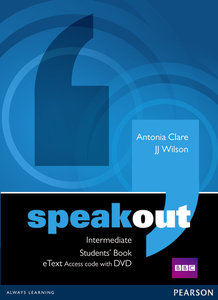 Speakout Intermediate Students\' Book eText Access Card with DVD