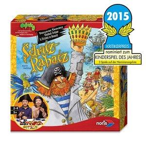 Noris 606018015 - Schatz Rabatz, Nominiert zum Kinderspiel des J