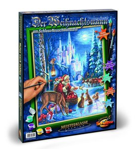 Schipper Malen nach Zahlen - Weihnachtsmann Neuschwanstein