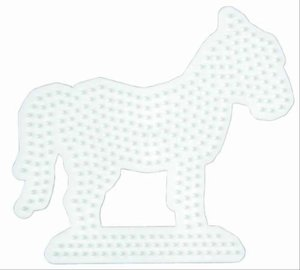 Hama Perlen 281 - Stiftplatte Pferd
