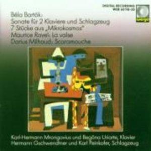 Sonate fur 2 Klaviere und Schlagzeug/7 Stucke au