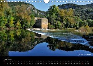 La vallée de la Céze Gard (Calendrier mural 2016 DIN A4 horizont