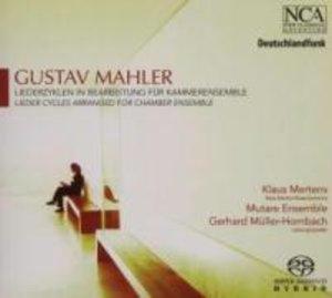 Mahler: Liederzyklen (Bearb.F.Kammerens.)