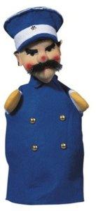 Kersa Classic 12471 - Handpuppen Polizist blau, 33 cm