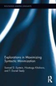 Explorations in Maximizing Syntactic Minimization