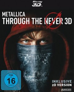 Metallica Through The Never-Blu-ray 3D