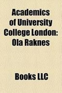 Academics of University College London