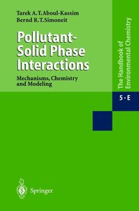 Pollutant-Solid Phase Interactions