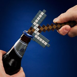 Minecraft - Pickaxe Bottle Opener (Flaschenöffner)