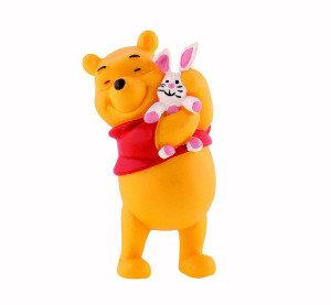 Figur Winnie Puuh mit Hase 6 cm