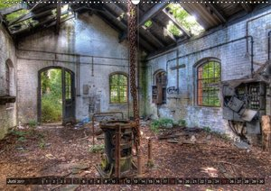 Lost Places in Deutschland 2017 (Wandkalender 2017 DIN A2 quer)
