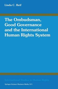The Ombudsman, Good Governance and the International Human Right