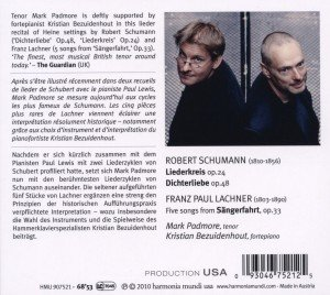 Dichterliebe/Liederkreis op.24