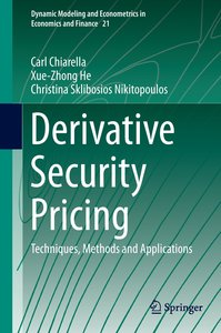 Derivative Security Pricing