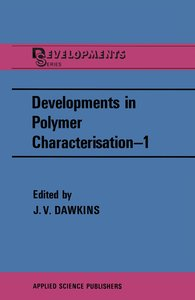 Developments in Polymer Characterisation-1