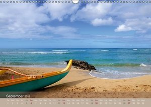 Aloha from Hawaii - UK Version (Wall Calendar 2015 DIN A3 Landsc