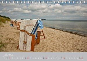Urlaubsparadies Rügen (Tischkalender 2016 DIN A5 quer)