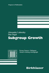 Subgroup Growth