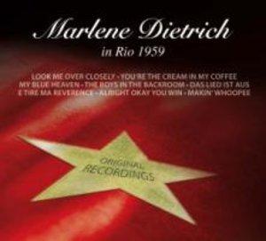Marlene Dietrich in Rio 1959