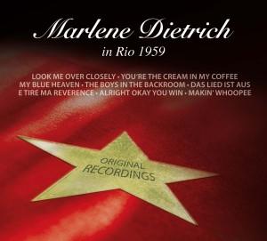 Marlene Dietrich in Rio 1959 - zum Schließen ins Bild klicken